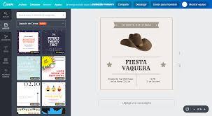 Crea Invitaciones Vaqueras Online Gratis Canva