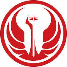 Star Wars Old Republic Logo 8 Vinyl Decal Sticker Galactic Republic Jedi Order Ebay