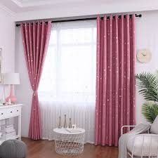 Jarlhome Small Star Moon Blackout Curtains For Living Room Bedroom Kids Room Children Boys Girl Room Buy At The Price Of 6 37 In Aliexpress Com Imall Com