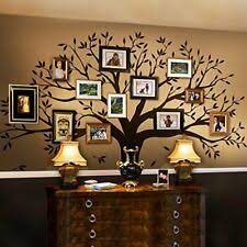 Family Tree Wall Decal By Simple Shapes Chestnut Brown Standard Size For Sale Online Ebay