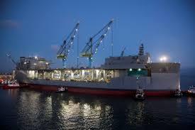 "Saab Receives Order To Supply Sea Giraffe AMB Radar For U.S. Navy's ESB  Class Ship, USNS Hershel ""Woody"" Williams - DefPost"