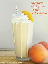 copycat fil a peach milkshake