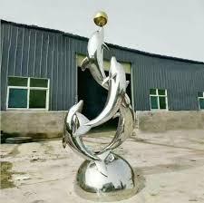 dolphin sculpture garden statues