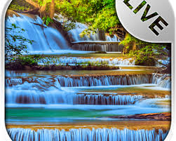 waterfall live wallpaper android free
