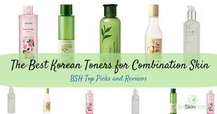 best korean toners for bination skin