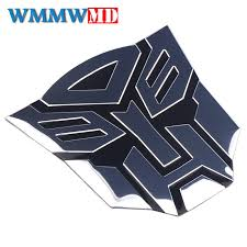 Alloy Transformers Autobot 3d Logo Emblem Badge Graphics Decal Car Sticker Decal Archives Midweek Com