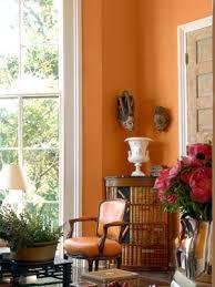 pumpkin living room orange orange