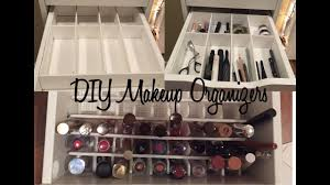 diy makeup drawer organizers you