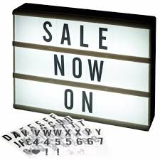 cloud light up message quotes thoughts home writing board sign for
