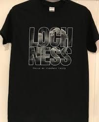 t shirt loch ness nessie at urquhart castle