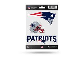 Nfl Football New England Patriots Window Decal Sticker Set Officially Licensed Custom Sticker Shop