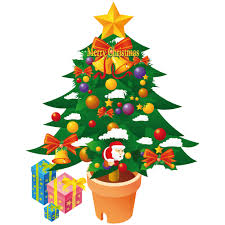 christmas tree Vector Icons free download in SVG, PNG Format