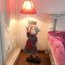 2020 Oovov Cute Miss Pig Kids Room Floor Lamps Cartoon Simple Baby Room Floor Light Child Bedroom Floor Lights From Oovov 128 65 Dhgate Com