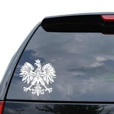 For Polish Eagle Emblem Crest Decal Sticker Car Truck Motorcycle Window Laptop Wall Decor 09 Inch 23 Cm Tall Gloss Black Car Stickers Aliexpress