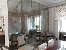 mercury glass wall installation cle