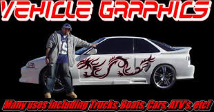 Vehicle Graphics Flames Tribals Splashes And More