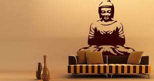 Buddha Large Wall Decals Dezign With A Z