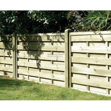 Square Horizontal Fence Panel 1800mm X 900mm Worcester Timber Products