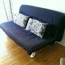 ikea ps sofa bed blue jeans material