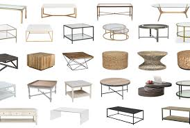 choose the perfect shaped coffee table