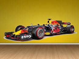 Formula 1 Red Bull Team Full Color Sticker F1 Decal F1 Full Color Decal Red Bull Wall Decor F1 Wall Decal Fia Sticker Formula1 Wall Decor Cfb 67 20x60 Amazon Ca Home