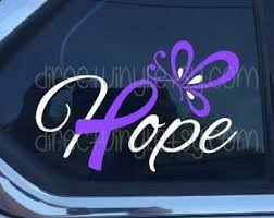 Cystic Fibrosis Decal Etsy