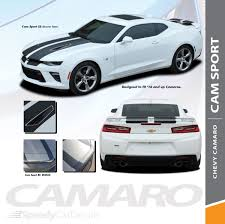 Chevy Camaro Racing Stripes Cam Sport 2016 2018 Rally Vinyl Graphics Premium And Supreme Install Vinyl Speedycardecals Fast Car Decals Auto Decals Auto Stripes Vehicle Specific Graphics