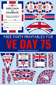 Free Printable VE Day Decorations ...