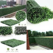 40 60cm Artificial Boxwood Panels Privacy Synthetic Balcony Fencing Ivy Fence Wall Home Outdoor Decoration Garden And Terraces Artificial Plants Aliexpress