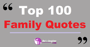 top family quotes and sayings nature photographs