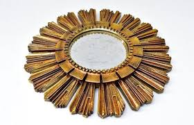 italian sunburst mirror vintage