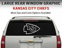 Kansas City Chiefs Window Decal Graphic Sticker Car Truck Suv Choose Size Ebay