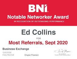 BNI Business Exchange - Publications   Facebook