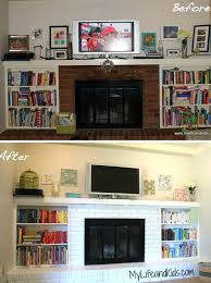 before after 15 fireplace surrounds