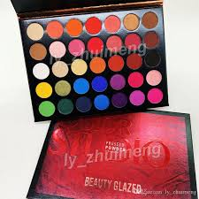 2019 beauty glazed eyeshadow palette