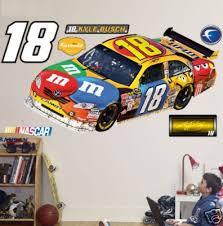 Kyle Busch Car 18 Cot Nascar Fathead 6 8 Wide New 170393210