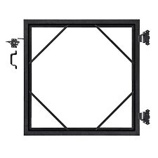 Infinity Black Aluminum Gate Kit In The Metal Fence Gates Department At Lowes Com