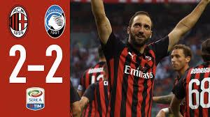 AC Milan 2-2 Atalanta - Highlights - Matchday 4 Serie A 2018/2019 ...