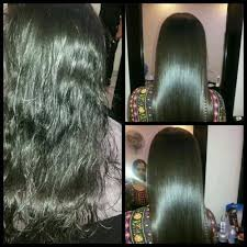 hair keratin hair smoothing service