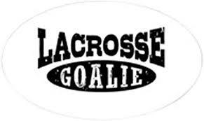 Amazon Com Cafepress Lacrosse Goalie Oval Bumper Sticker Euro Oval Car Decal Home Kitchen
