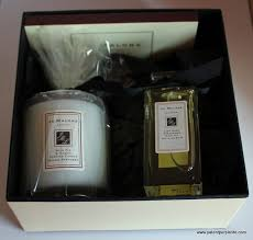 jo malone candle and bath oil