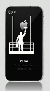 Iphone 4 4s Iphone 3g Funny Humor Decal Sticker Apple Painter Apple Stickers Iphone Decal Iphone