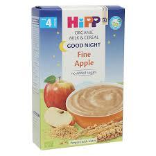 Bột ăn dặm HiPP chúc ngủ ngon vị táo tây cho bé từ 4 tháng - Kids Plaza