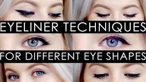 eyeliner techniques for diffe eye