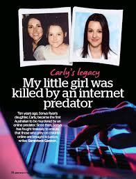 PressReader - The Australian Women's Weekly: 2017-09-07 - My little girl  was killed by an internet predator