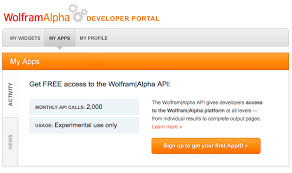 Wolfram|Alpha Full Results API Reference
