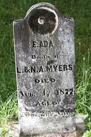 Emiline Ada Myers (1857-1877) - Find A Grave Memorial