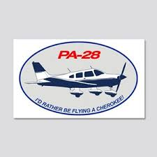 Piper Cherokee Wall Decals Cafepress