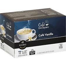 cafe escapes keurig hot coffee beverage