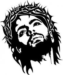 Jesus Christ Crown Of Thorns Sticker Decal Vinyl Car Laptop Etsy